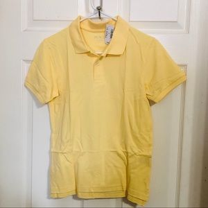 NWT Children's Place Yellow Polo Boys 10/12